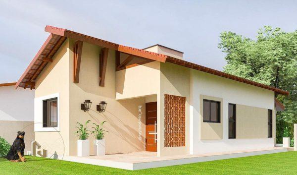 Ideas consejos para hacer fachada casa pequena fachada con diseño sencillo tonos neutros