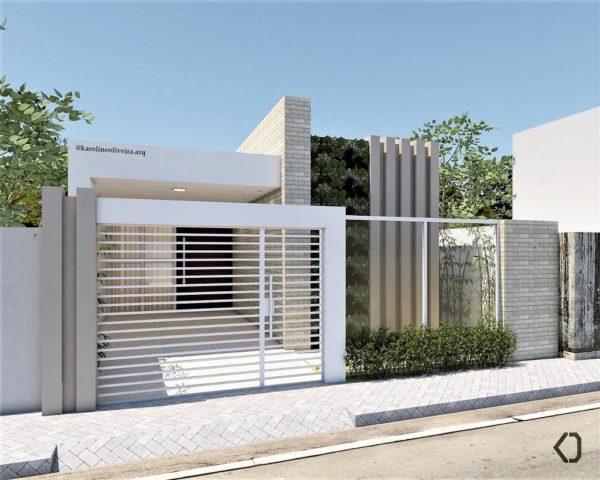 Ideas consejos para hacer fachada casa pequena fachada con elementos y revestimientos destacados