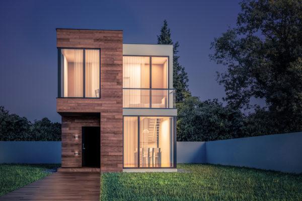 Ideas consejos para hacer fachada casa pequena