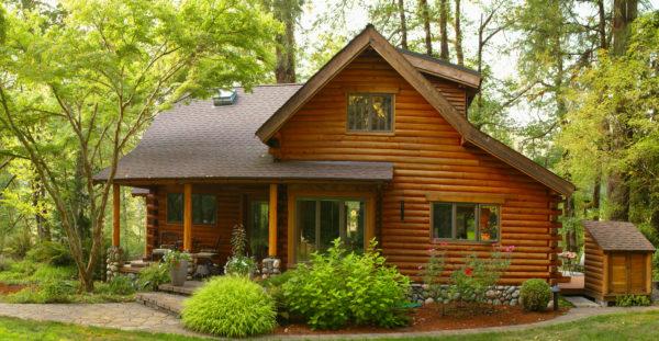 Ideas consejos para hacer fachada casa rustica estilo cabaña