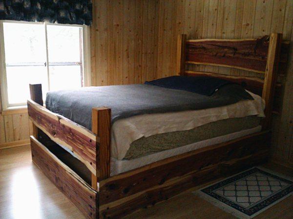 Ideas consejos para hacer muebles rusticos con madera FOTOS cama rustica