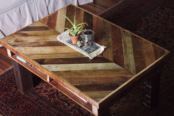 Ideas consejos para hacer muebles rusticos con madera FOTOS mesa