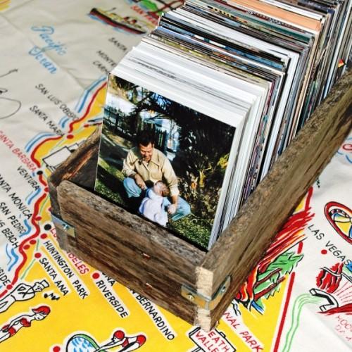 Ideas consejos para hacer muebles rusticos con madera FOTOS mueble discos