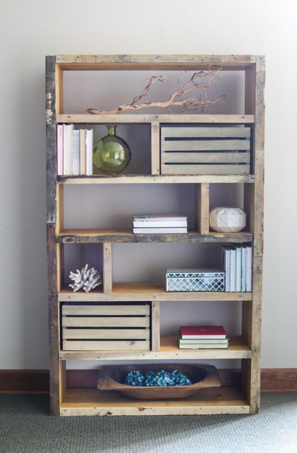 Ideas consejos para hacer muebles rusticos con madera estanteria