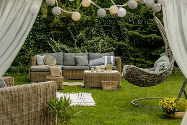 Cojines para sillas y sofás de terraza macetas jardin
