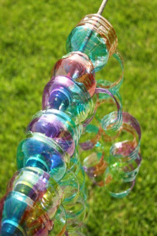 Manualidades faciles de verano para ninos espirales botellas