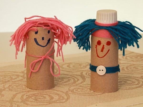 Manualidades faciles de verano para ninos marionetas