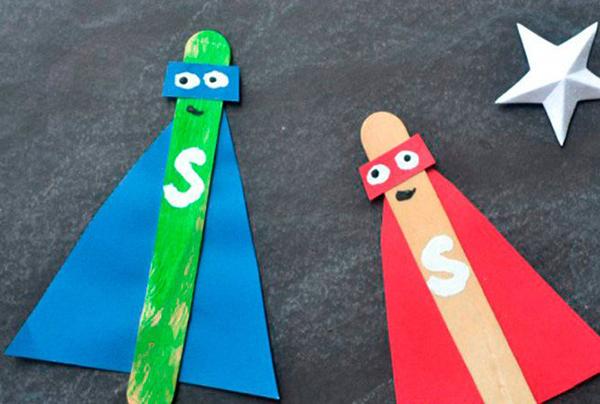 Manualidades faciles de verano para ninos superheroes