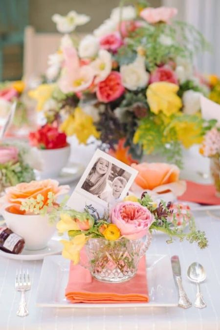 Mejores ideas para decorar casa en el dia de la madre flores fotos mesa