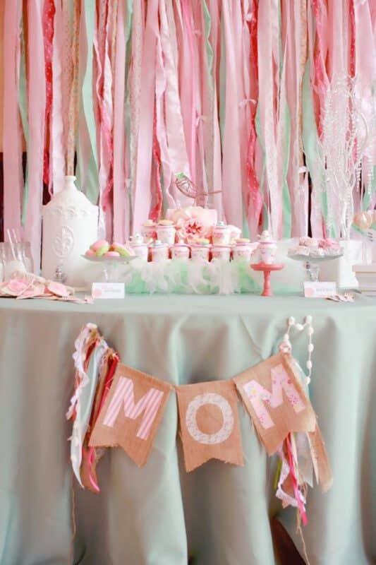 Mejores ideas para decorar casa en el dia de la madre mesa dulce