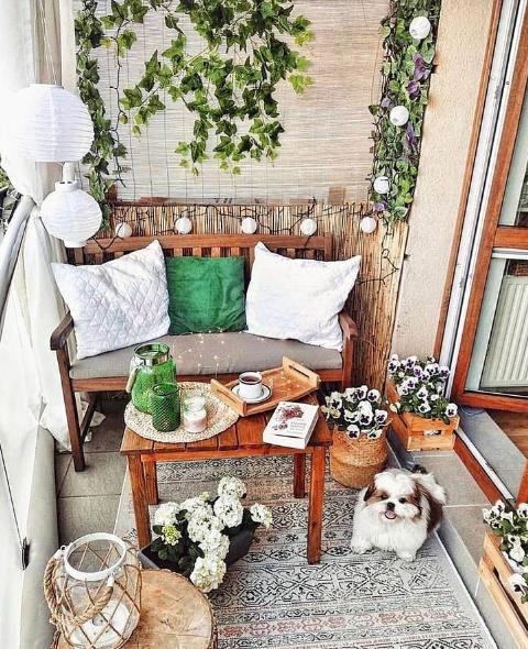 30 Ideas para decorar la terraza en Primavera Verano rinconcito