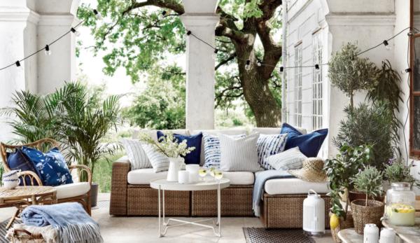 30 Ideas para decorar la terraza en Primavera Verano ibicenca