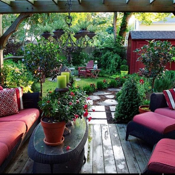 30 Ideas para decorar la terraza en Primavera Verano verde