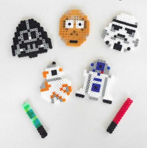 Manualidades de Star Wars para niños en 2021 hamabeads