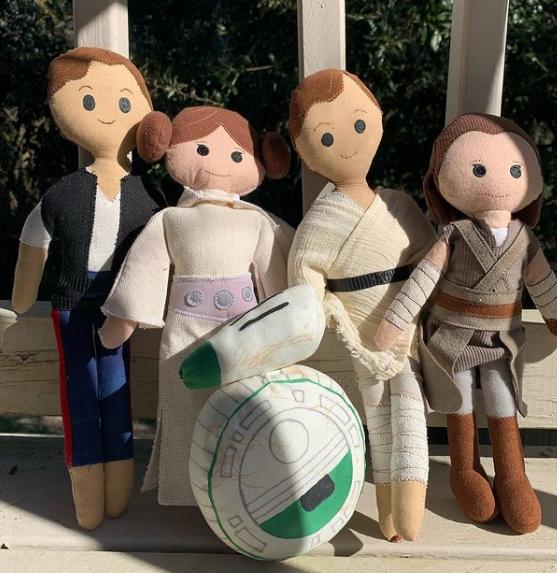 Manualidades de Star Wars para niños en 2021 Muñecas