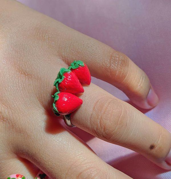 Anillo de fresa