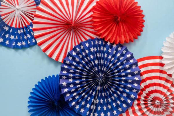 Las mejores ideas para decorar nuestra casa para el dia de independencia en estados unidos guirnalda