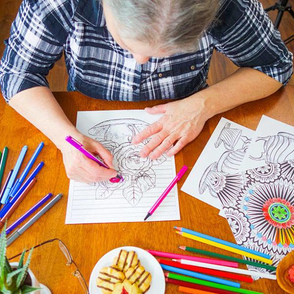 Las mejores ideas de manualidades para personas mayores mandalas dibujo