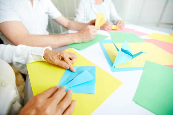 Las mejores ideas de manualidades para personas mayores papiroflexia