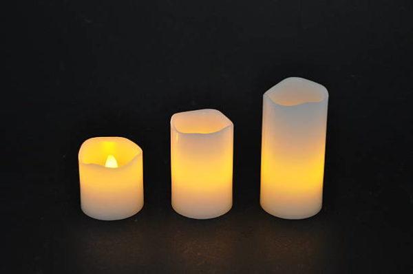 Las mejores ideas para iluminar tu jardin sin contaminar velas electricas