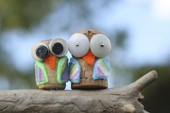 Ideas y consejos para hacer animales con corchos para niños ojos saltones
