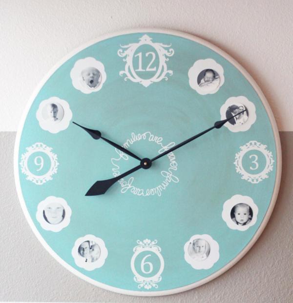Las mejores ideas para hacer manualidades con los abuelos reloj