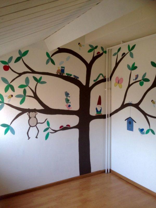 Las mejores ideas y consejos para decorar tu casa sin mucho dinero árbol pared