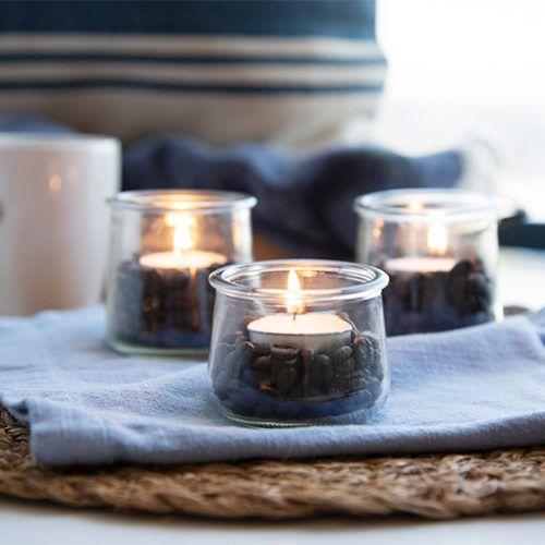 Las mejores ideas y consejos para decorar tu casa sin mucho dinero velas cristal