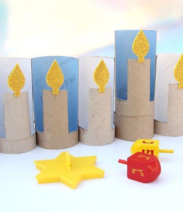 Ideas de manualidades para ninos para el dia de hanukkah cartones