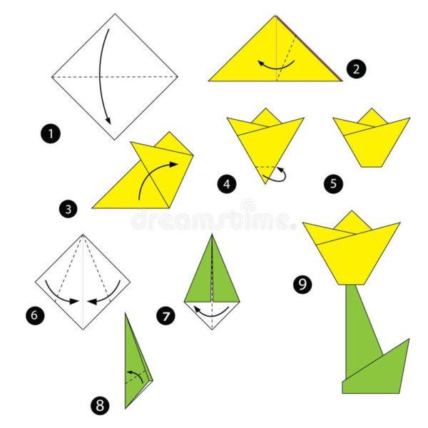Los origami mas sencillos para hacer con ninos y celebrar el dia mundial del origami flor