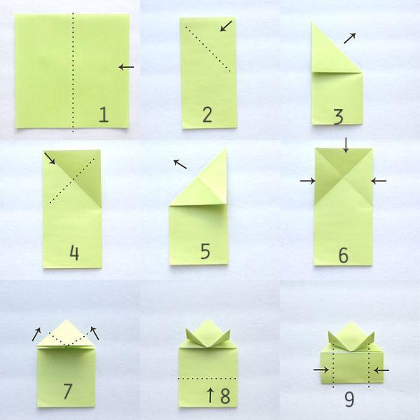 Los origami mas sencillos para hacer con ninos y celebrar el dia mundial del origami rana