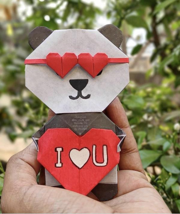 Las mejores ideas de Origami para principiantes osos