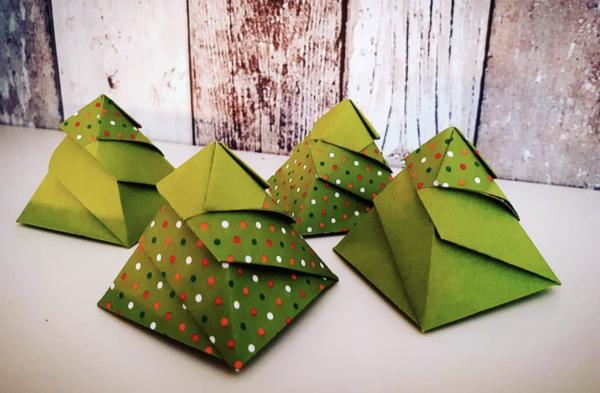 los Origami más sencillos para hacer con personas mayores y celebrar el Día Mundial del Origami árboles