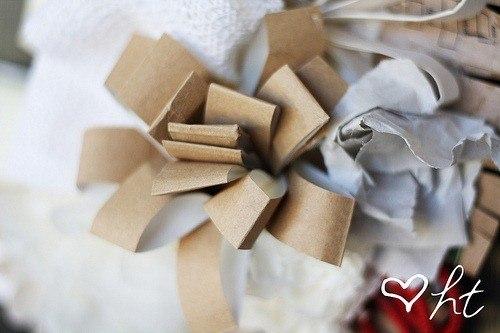 Cómo hacer flores de cartón