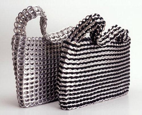 Cmo hacer un bolso con anillas de refresco Manualidades