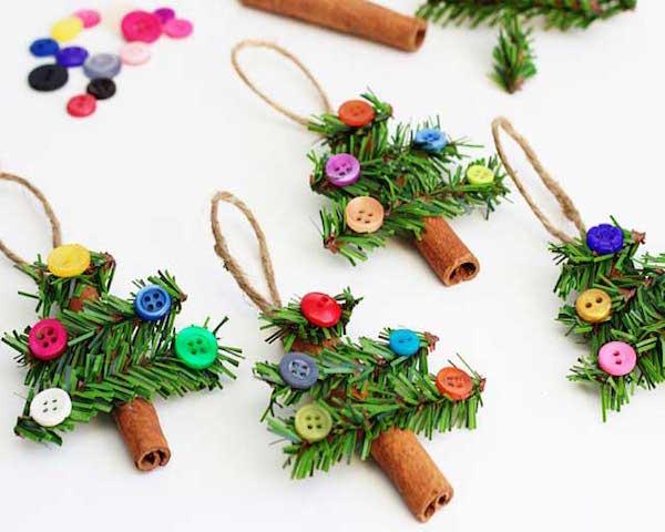 Adornos para el arbol de navidad arboles de botones - Arbol navidad adornos ...
