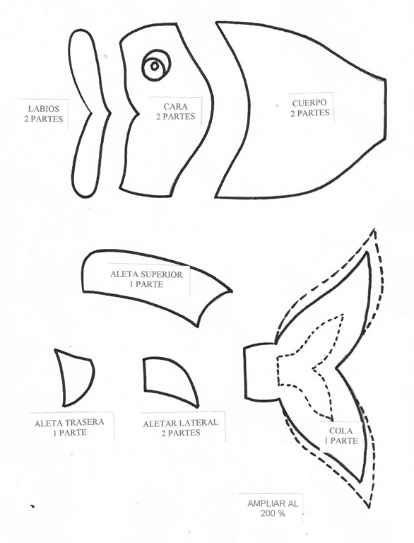 Moldes para hacer gorros - Imagui