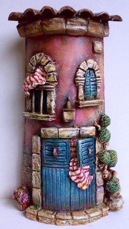 Tejas decoradas manualidades - Tejas pequenas decoradas ...