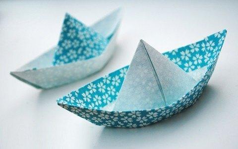 Cómo hacer un barco de papel