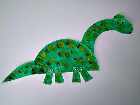 Manualidades de dinosaurios para ni os manualidades for Actividades con cartulina para ninos
