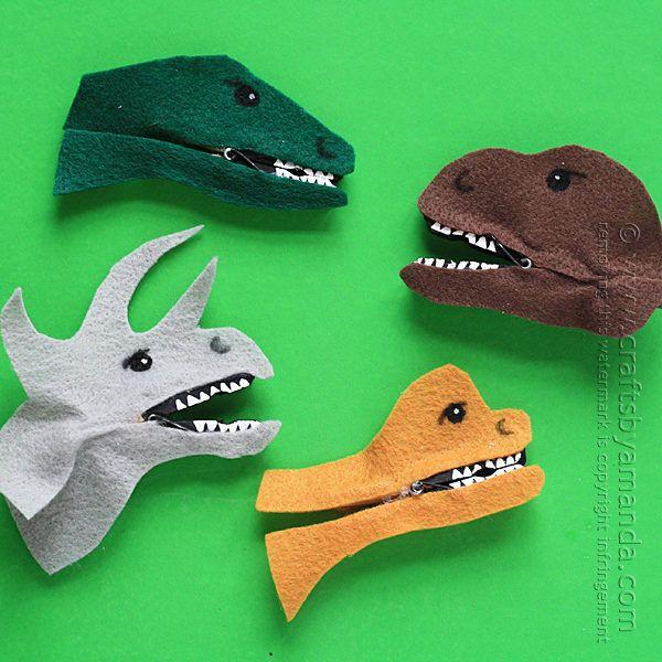 dinosaurios pinzas