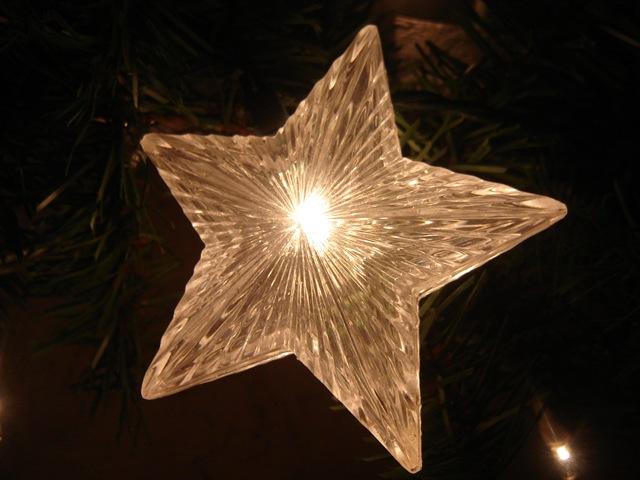 Manualidades de navidad 2016 f ciles de hacer - Estrella para arbol de navidad ...