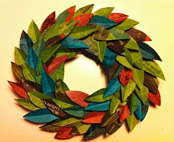 Las manualidades para decorar nuestra casa en navidad 2015 - Decoracion navidad papel ...