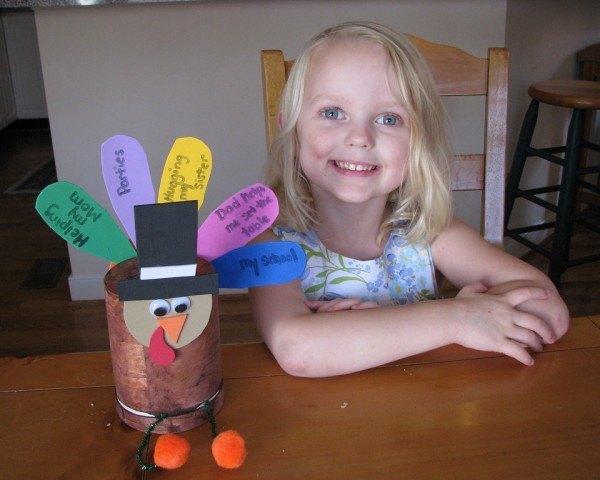Manualidades de acción de gracias para niños