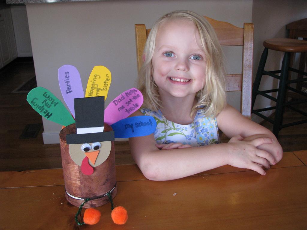 Manualidades de acción de gracias para niños - Manualidades