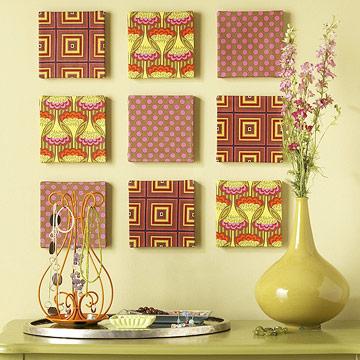 Manualidades de decoraci n f ciles manualidades for Cuadros modernos para decorar cocinas