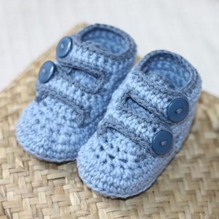 Unos patucos para el bebé