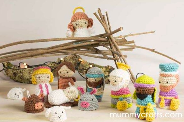 Kit Amigurumi Navidad : Belen-de-Amigurumi-mummy-crafts - Manualidades