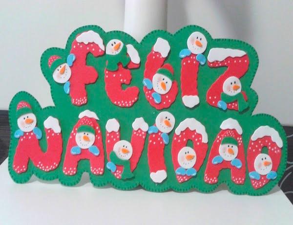 Adornos de navidad con goma eva 2018 manualidades - Adornos navidenos de goma eva ...