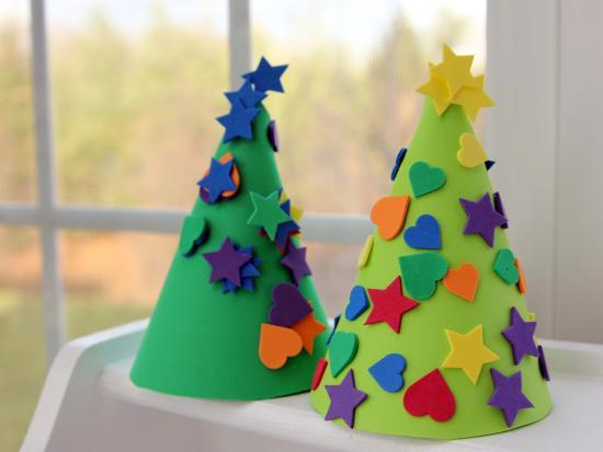 Adornos de navidad con goma eva 2018   Manualidades